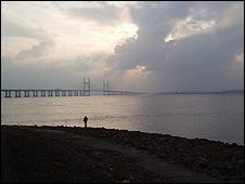 Severn estuary (Image: BBC)