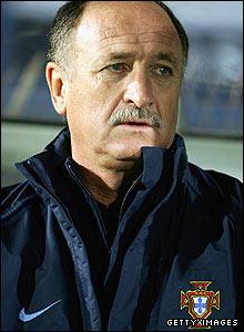 In December 2002 Luiz Felipe Scolari takes over as Portugal's manager