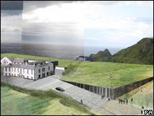 Proposed visitors centre
