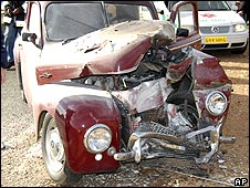 Ove Andersson was killed driving this 1957 Volvo