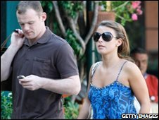 Wayne Rooney and Coleen McLouglin
