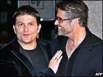 Kenny Goss with George Michael