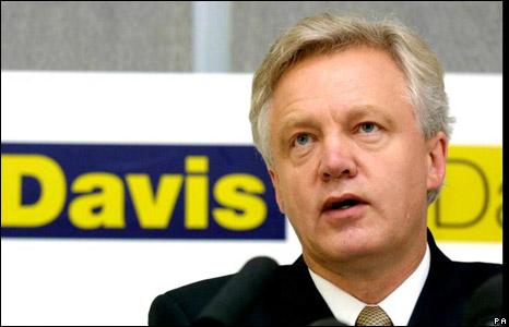David Davis's 2001 leadership campaign