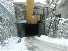 Tunnel entrance. Image: BBC