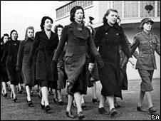 Women conscripted into the war effort