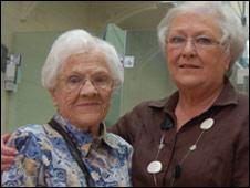 Mary Louvain Jones and Louvaine Lloyd-Jones