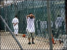 Unidentified inmates of Camp 4, Guantanamo Bay (14 May 2008)