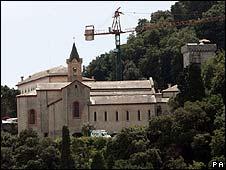 La Cervara abbey