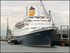 Saga Rose in Southampton
