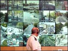 Surveillance screens