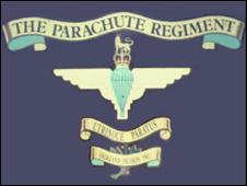 Parachute Regiment crest