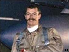 t Chris Ball, sporting his long moustache