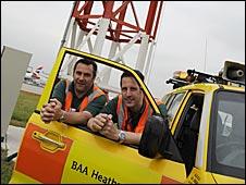 Heathrow checker team