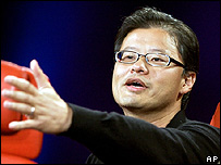 Jerry Yang, gerente general de Yahoo