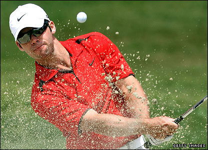 Paul Casey had a difficult day