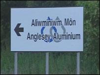 Aliwminiwm Môn