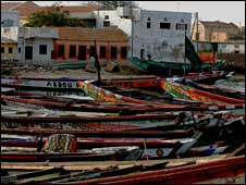 St Louis in Senegal (Copyright BBC News website reader Michelle Donnelly-Bray)