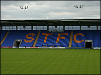 Shrewsbury Town's ground