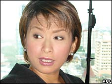 Ces Drilon, kidnapped Filipina journalist (file)
