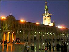 Court yard of the Umayyad mosque, Damascus