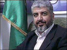 Khaled Meshaal, Hamas political leader based in Damascus