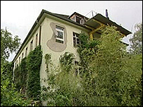 House in Vauban surrounded by plants