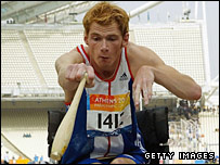 Paralympic champion Stephen Miller