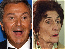 Des O'Connor and June Brown
