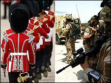 Trooping of the Colour and UK soldiers in Iraq