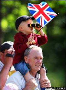 Spectators at Trooping the Colour