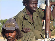Chadian rebels (file image)