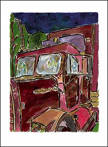 Truck (Copyright Bob Dylan 2008)