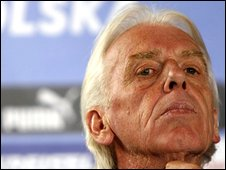 Poland coach Leo Beenhakker