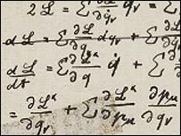 Apuntes de Albert Einstein