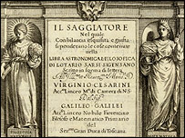 Il Siggiatore, de Galileo Galilei