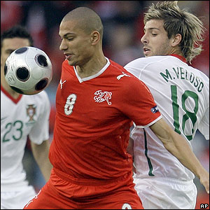Switzerland's Gokhan Inler