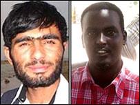 Слева - Абдул Самад Рохани, справа - Настех Дахир Фараа