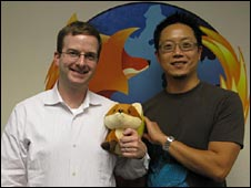 Mike Schroepfer and Paul Kim