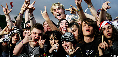 Fans at Download Festival