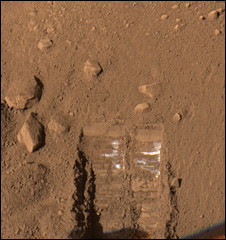 Martian soil (Nasa)