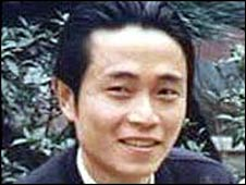 Dissident Chinese journalist Huang Qi