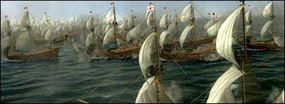 Imagen digital de la Armada inglesa - BBC