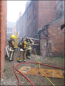 Wrexham fire