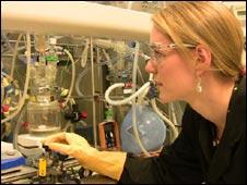 Scientist Gemma Johnson