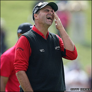 Rocco Mediate on the fifth green