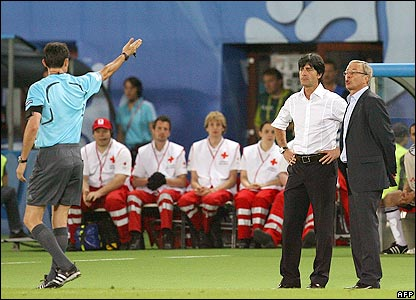 Joachim Low and Josef Hickersberger are sent to the stands