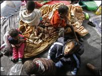 أطفال صوماليون