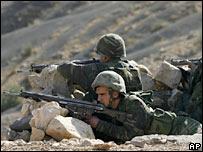 جنود اتراك