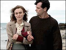 Keira Knightley and Matthew Rhys