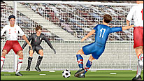A 3D animation of Ivan Klasnic scoring for Croatia